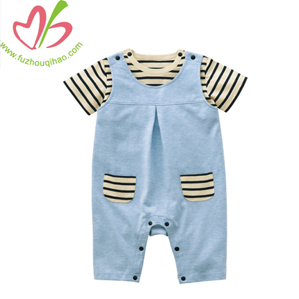 cute stripe boy baby sets