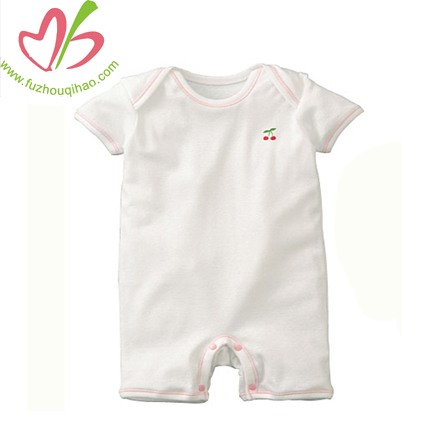 good quality baby white shortall