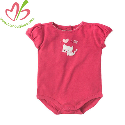 cute baby short romper