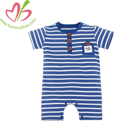striped infant onesies