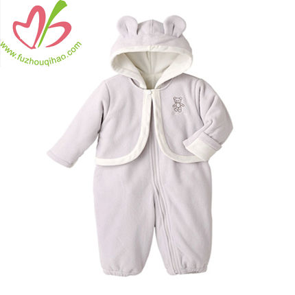 animal baby romper set, baby onesie with jacket