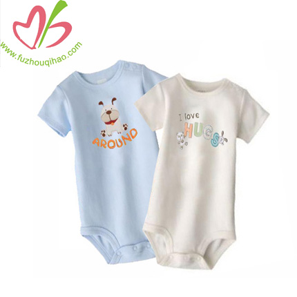 summer baby designs, baby onesie with printing