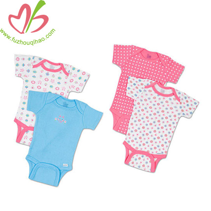 four pieces baby clothes sets,baby summer clothes designs