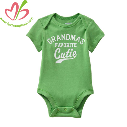 summer baby clothes designs, baby onesie with big letters printing