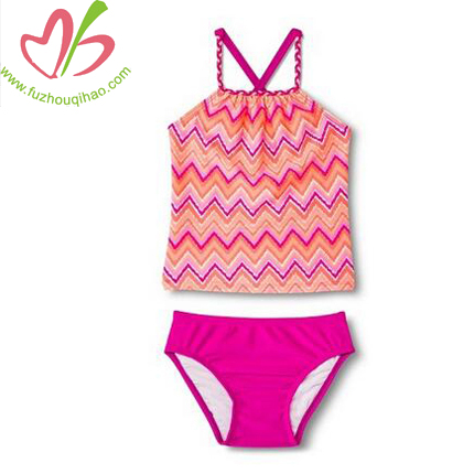 fashion girl's swimsuit set