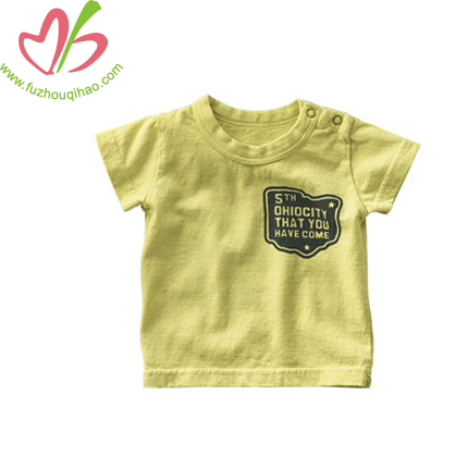 cute boy baby tee, comfortable baby top