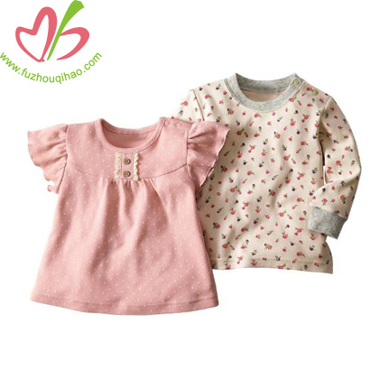 comfortable baby girl top
