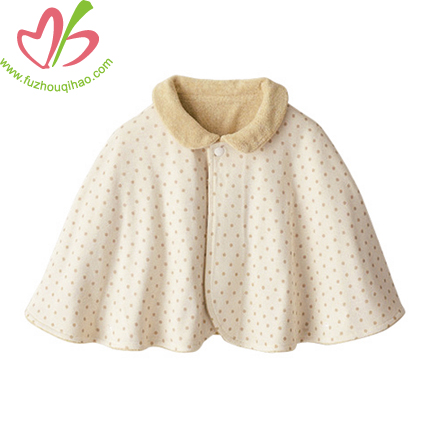 comfortable baby girls cloak