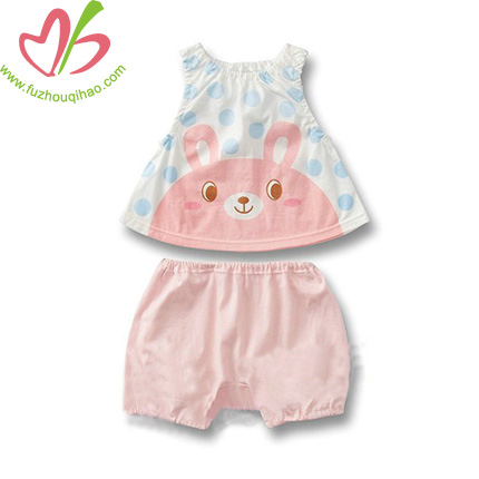 cute printed baby sets