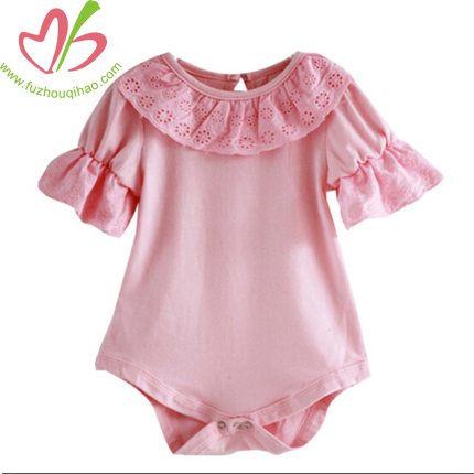 posh infant ruffle romper