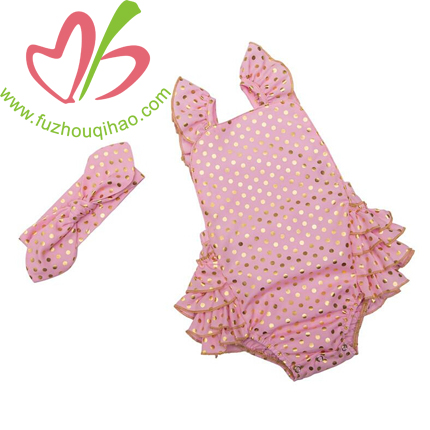 infant flutter sleeve bubble and headband