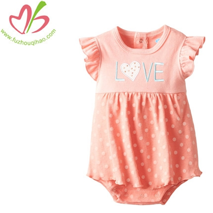 Baby girl fly sleeve onesies dress