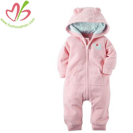 Cute Baby Warm Romper Clothes