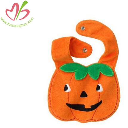 Lovely Pumpkin Baby Saliva Bib