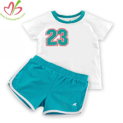 Summer Girl's Sport Clothing Set