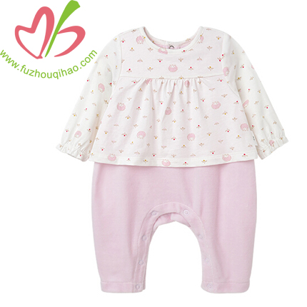 Comfortable Cotton Infant Onesies