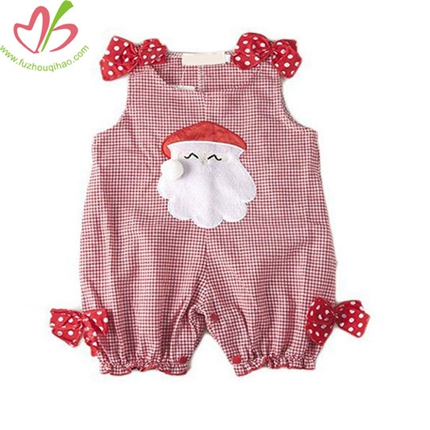 Snowman Red Gingham Onesies