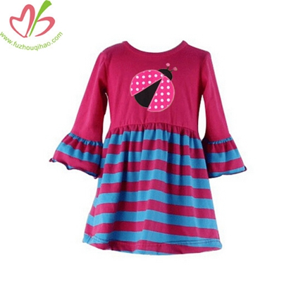 Applique Long Sleeve Blouse for Children