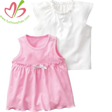 Toddler Baby Girls' Ruffle Top New Design