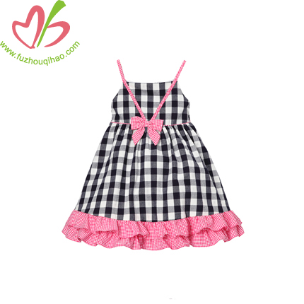 Kids Girl's Smcok Dress