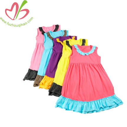 Kids Girls'Colourful A-Line Dress-Many Colour
