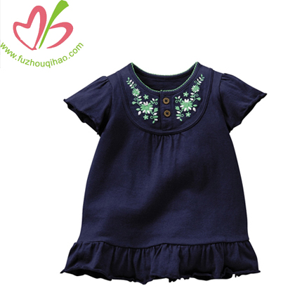 Embroidery Baby Causal Dress