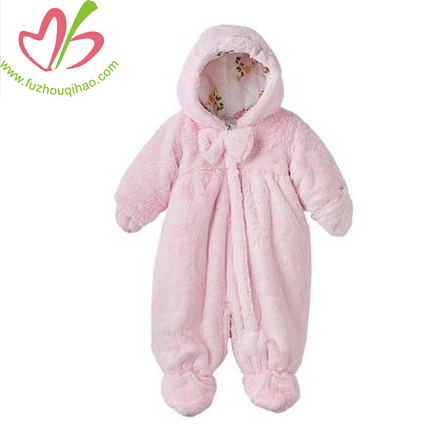 Coat Baby Colar Fleece Cape Infant Hoodie Onesie