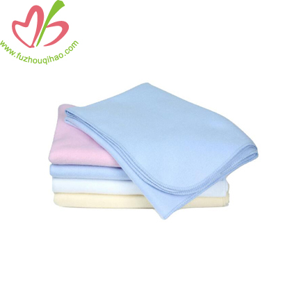 100% Cotton Colorful Baby Terry Blankets Custom Size