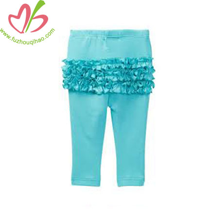 Infant Ruffle Leggings with 3 Ruffles At Back