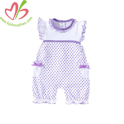 Organic Preemie Baby Clothes with Printing