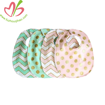 Polkadots Printed Infant Bibs