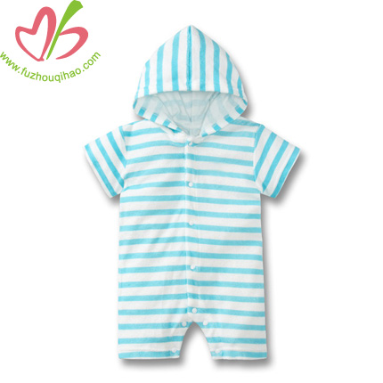 High Quality and Factory Price 100% Cotton Baby Romper Wear