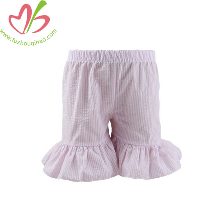 Newborn Baby Shorts Seersucker