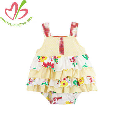 Multi Layers Infant Girls Costume