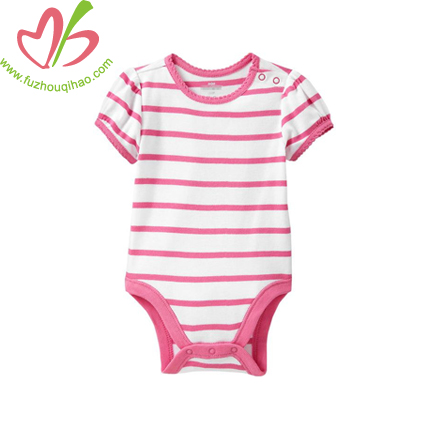 Stripe Bodysuit Romper Jumper Baby Shower Gift