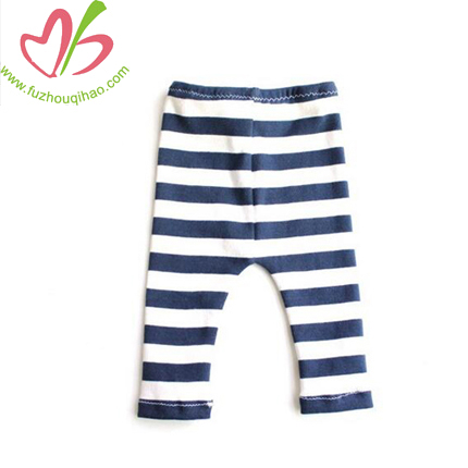 Black and White Baby Girls' Legging Pants