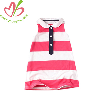 Stripe Children Tank Dress