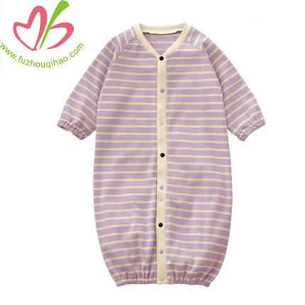 Stripe Baby Girl's Nightgowns