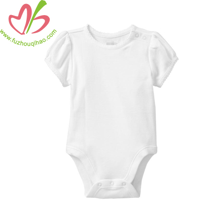 Newborn Infant Plain Romper-Many Color