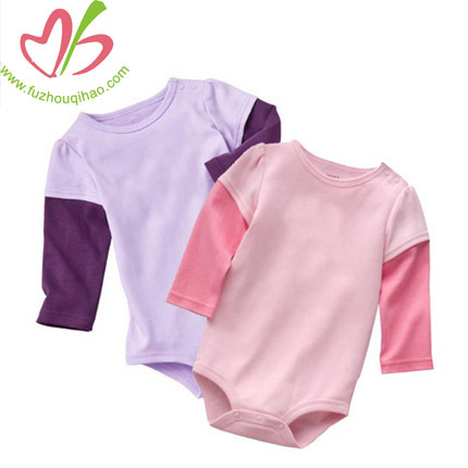 100% Cotton High Quality Baby Onesies