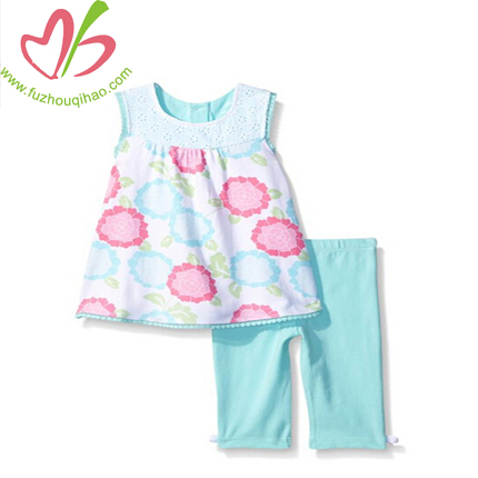 Printed Summer Baby's Outfits