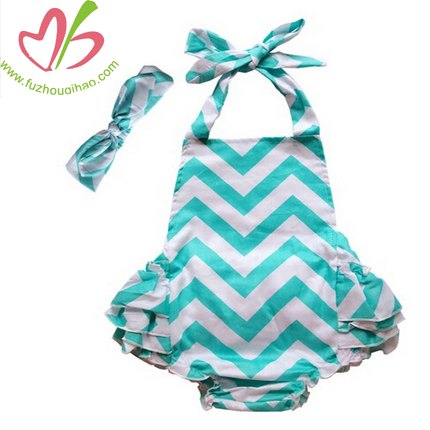 Aqu Chevron Baby Bubbles