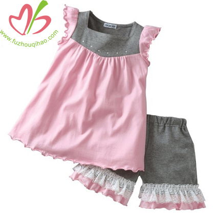 Girl's Playwear Clothes Suits
