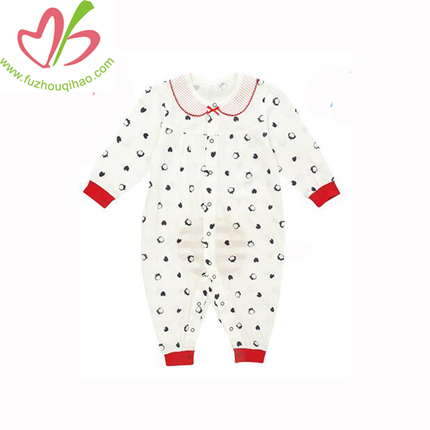 Customized Available Chicken And Duck 100% Cotton Baby One Piece Romper Onesie