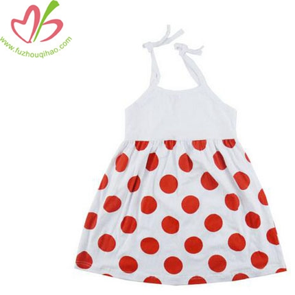 Baby Girl Dots Dress