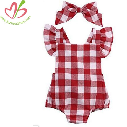 Baby Boysuit Fly Sleeve Baby Onesies