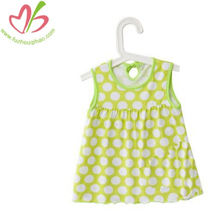 Customize Print Polka Dots Baby Dress