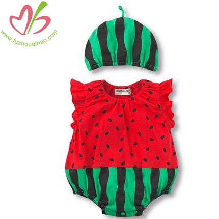 Baby Cute Watermelon Cosplay Bubbles