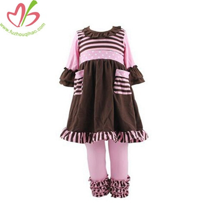 Boutique 100% Cotton Spring Dress Set