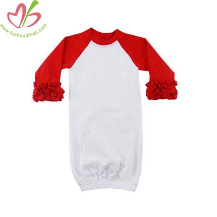 Raglan Sleeves Baby Gowns